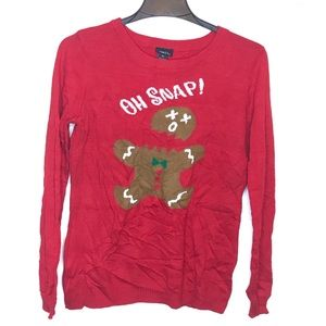 Rue 21 Ugly Christmas Gingerbread Sweater